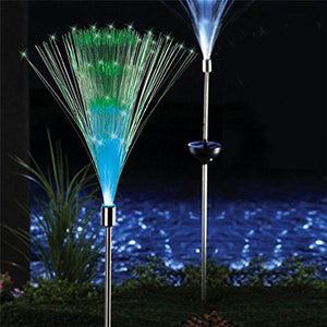 Solar Powered Color Changing Garden Lights - 2 PIECES