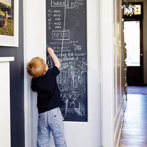 Art Chalk Board Vinyl Removable Sticker