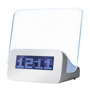 Message Board Fluorescent Digital Alarm Clock
