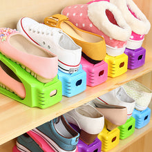 Colorful Double shoe Racks