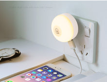 Touch Night Light Dual Phone Charger