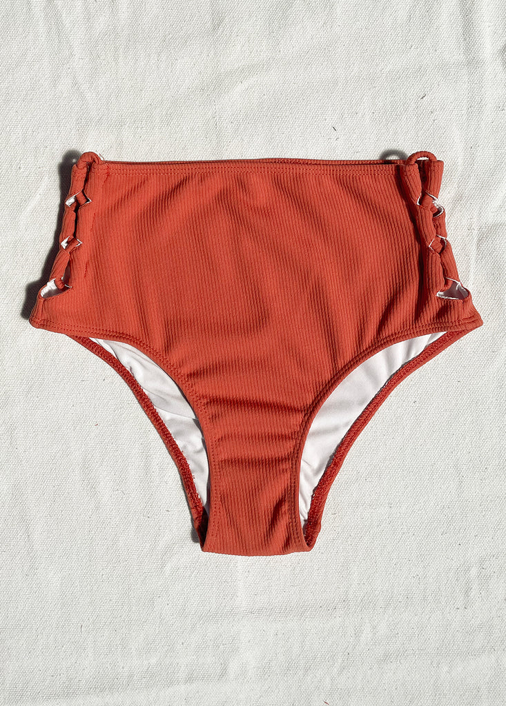 Anilo (High Waist Bottom) in Burnt Sienna