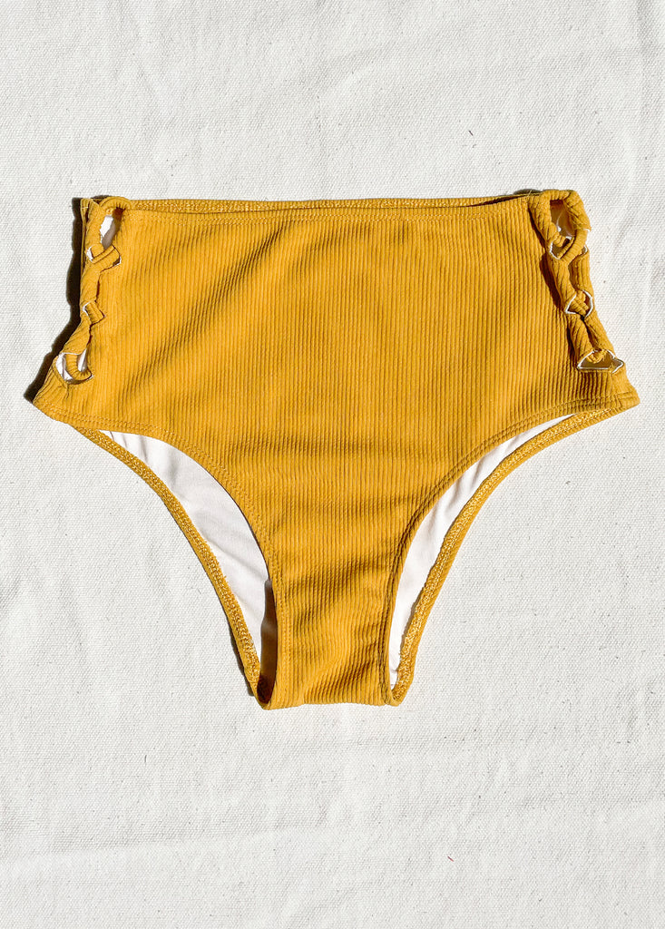 Anilo (High Waist Bottom) in Golden Tan