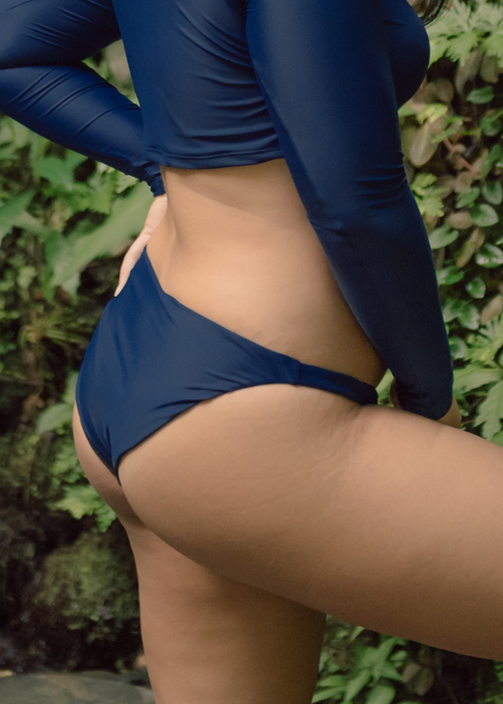 Bani Bikini Bottoms in Ocean Surf Blue