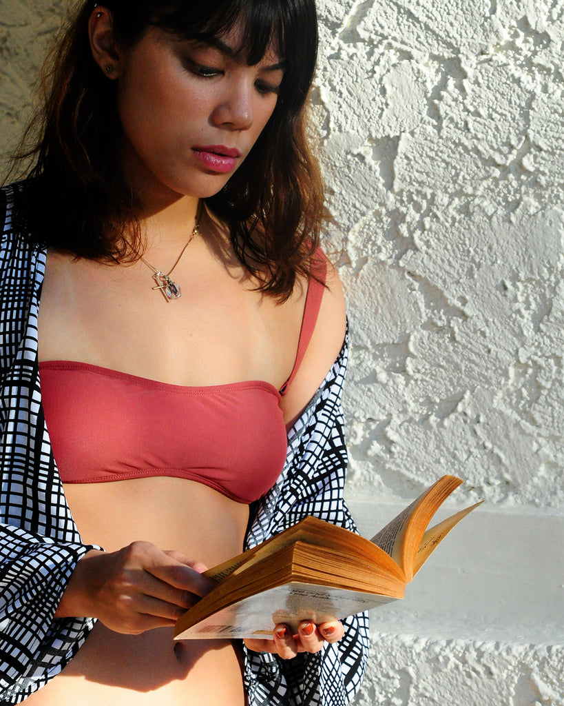 Laja Tube Top in Burnt Sienna