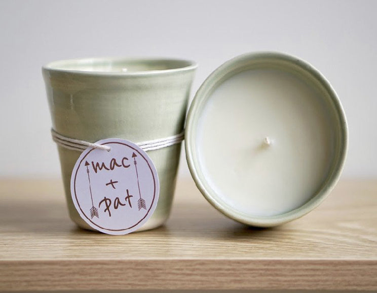 Ceramic Candle - Fresh Pear