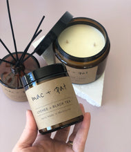 Load image into Gallery viewer, Lychee + Black Tea Candle