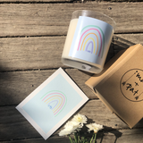 Hope Rainbow Candle- Small