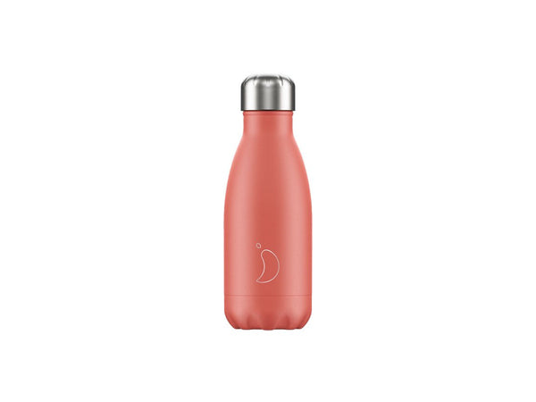 Chillys Bottle 260ml PINK CORAL EDITION