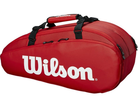 Wilson Tour 2 Compartment Small Tennis Bag (Red)