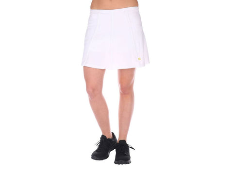 Pure Lime Pleated Back Tennis Skort