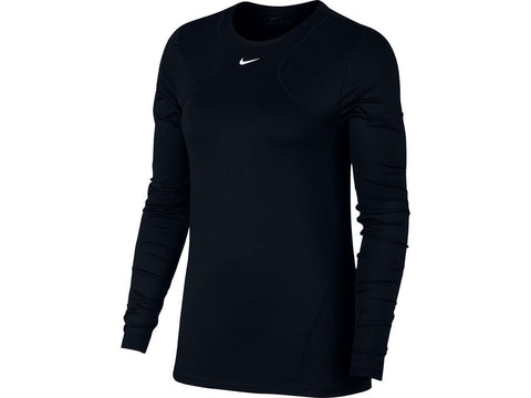 Nike Pro Women's Long Sleeve Mesh Top