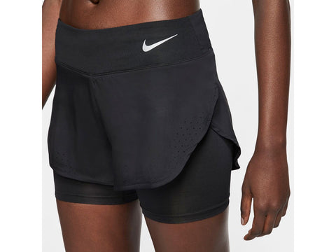 Nike Eclipse Womens 2 in 1 Running Short