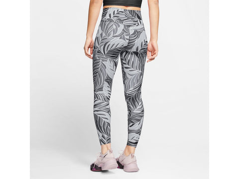 Nike One Womens Printed Mid-Rise 7/8 Leggings