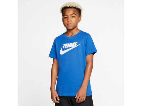 NikeCourt Dri-FIT Boys' Graphic Tennis T Shirt