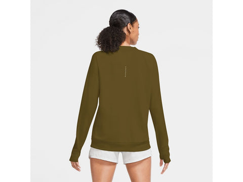 Nike Swoosh Run Crew Womens Long Sleeve Top