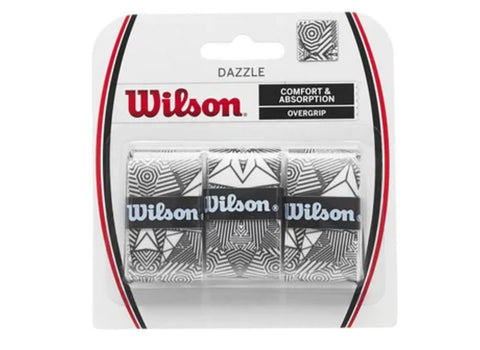 Wilson Dazzle Overgrip Pack of 3