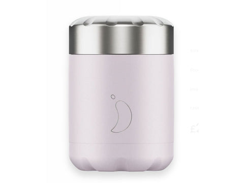 Chillys Food Flask BLUSH PURPLE EDITION (300ml)