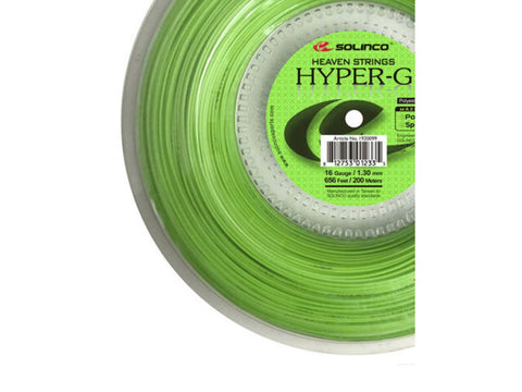 SOLINCO HYPER-G GREEN 1.25MM MONOFILAMENT TENNIS STRING