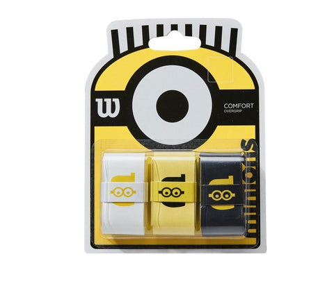 Wilson Minions Overgrip Pack of 3