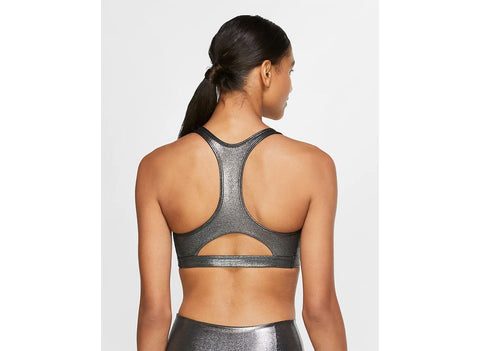 Nike Swoosh Icon Clash Women's Medium-Support 1-Piece Pad Shimmer Sports Bra
