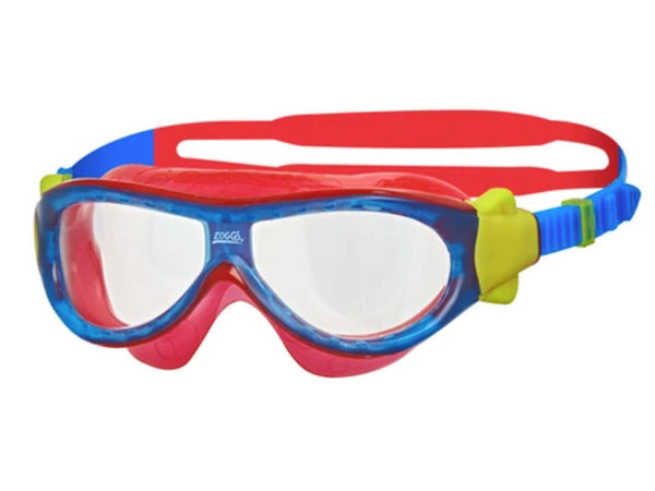 Zoggs Kids Phantom Mask (Blue/Red)
