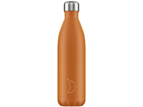 CHILLY'S BOTTLE 750ml BURNT ORANGE MATTE EDITION