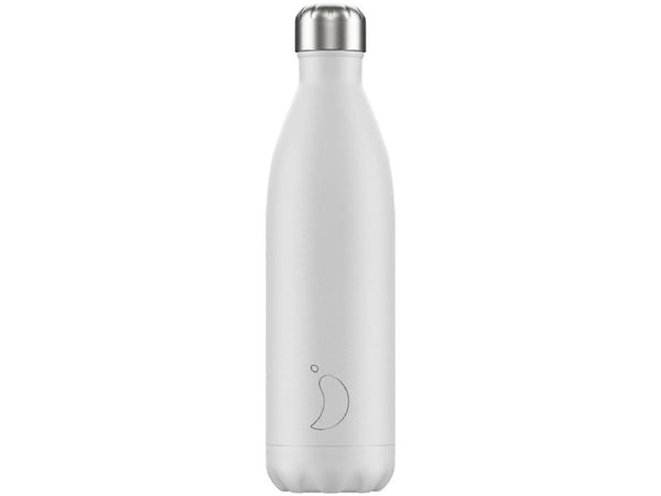 CHILLY'S BOTTLE 750ml WHITE MONOCHROME EDITION