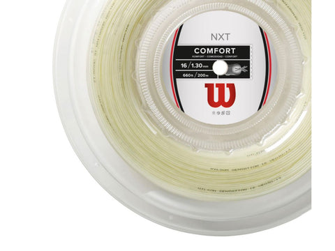 WILSON NXT 16 1.30 MM MULTIFILAMENT TENNIS STRING