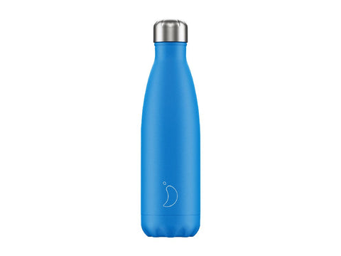 CHILLYS BOTTLE 500ml BLUE NEON EDITION