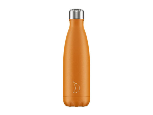 Chillys Bottle 500ml ORANGE NEON EDITION