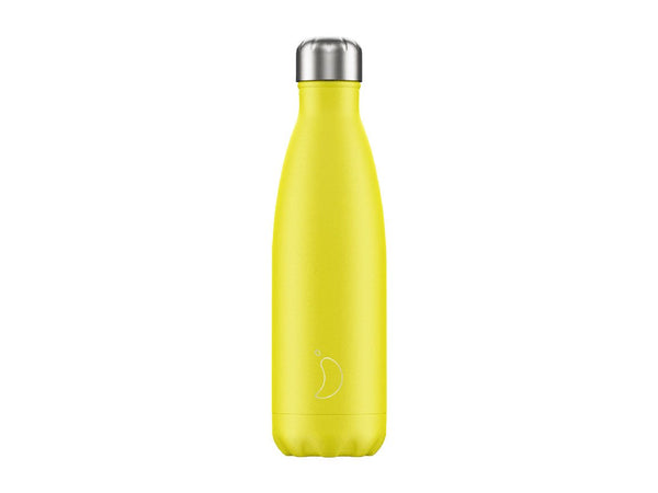 Chillys Bottle 500ml YELLOW NEON EDITION