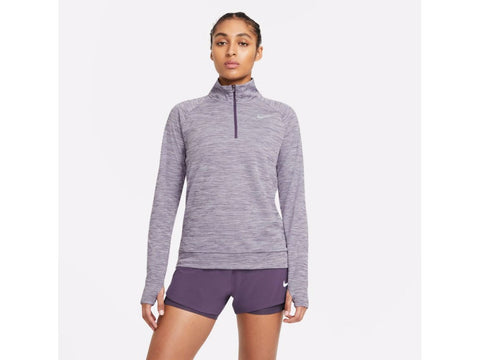 Nike Dri-FIT Pacer Womens Long Sleeve Half Zip Running Top