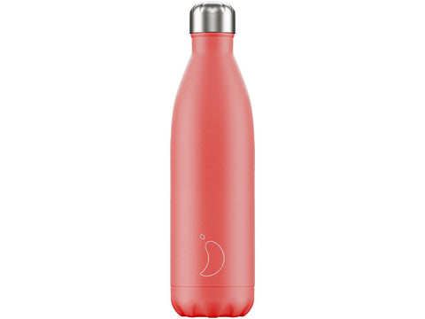Chillys Bottle 750ml CORAL Pastel Edition