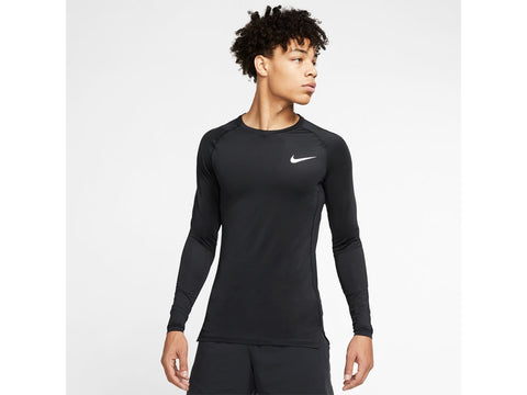 Nike Pro Mens Tight Fit Long Sleeve Top (Base-layer)
