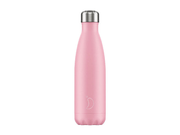 Chillys Bottle 500ml PINK Pastel Edition