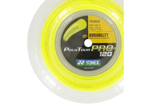 YONEX POLY TOUR PRO 1.25MM MONOFILAMENT TENNIS STRING