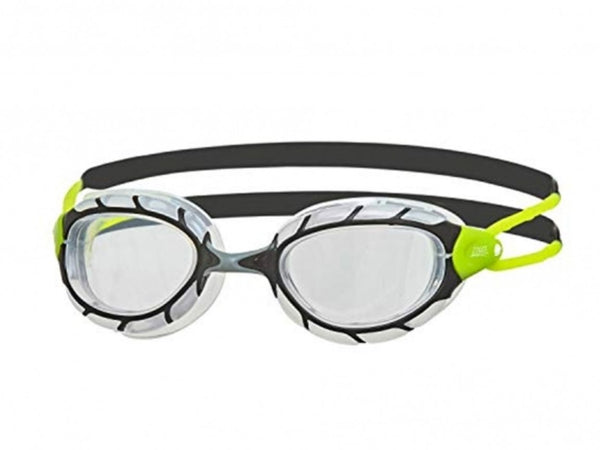 Zoggs Predator Clear (Black/Lime)