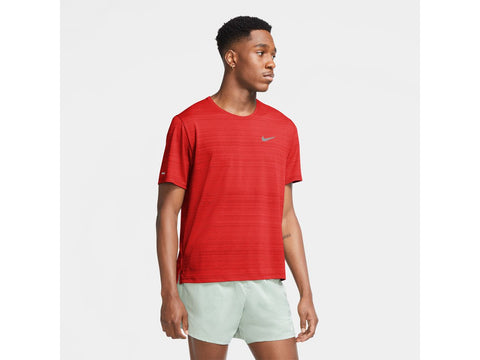 Nike Miler Mens Short Sleeve Running Top