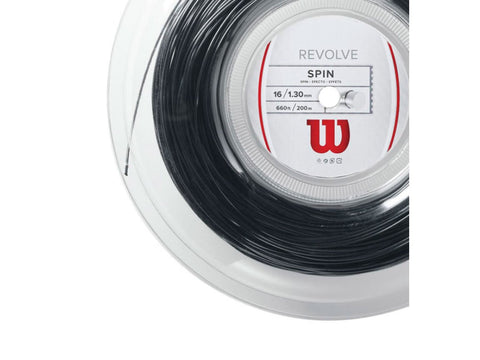 WILSON REVOLVE 16 1.30 MM MONOFILAMENT TENNIS STRING
