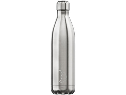 CHILLY'S BOTTLE 750ml METALS - STAINLESS STEEL