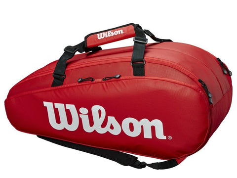 Wilson Tour 2 Large Compartment Tennis Bag (Red)