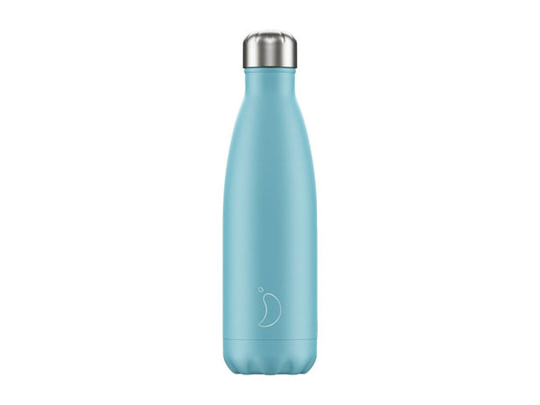 Chillys Bottle 500ml BLUE PASTEL EDITION