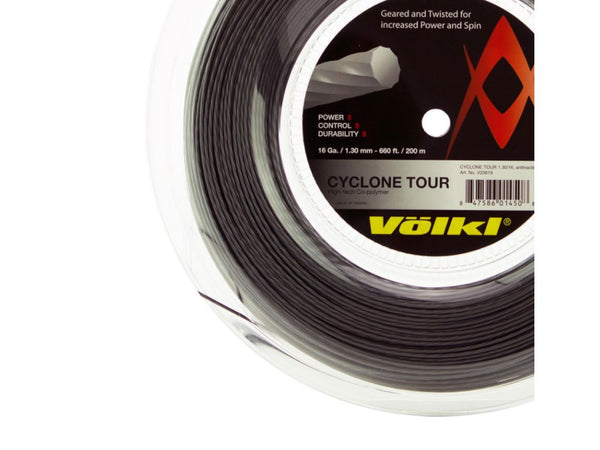 VOLKL CYCLONE TOUR 1.25MM MONOFILAMENT TENNIS STRING
