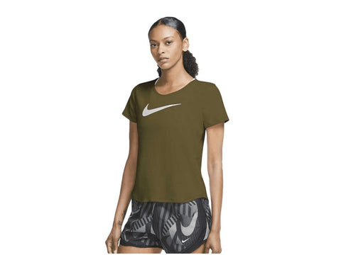 Nike Swoosh Run Womens Short Sleeve Running Top