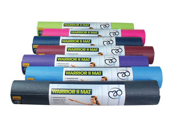 Fitness Mad Warrior II Yoga Matt 4mm