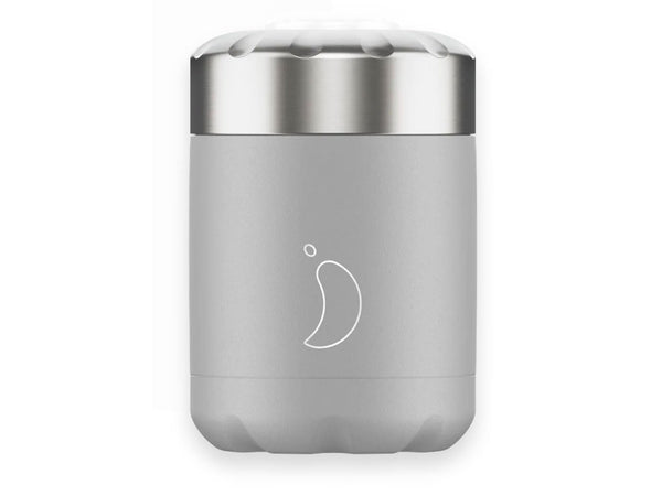 Chillys Food Flask MONOCHROME GREY EDITION (300ml)