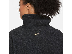 Nike Therma Womens Long Sleeve Fleece Training Top