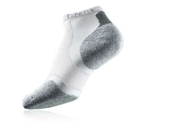 Thorlos Experia Micro Mini Unisex Running Sock White