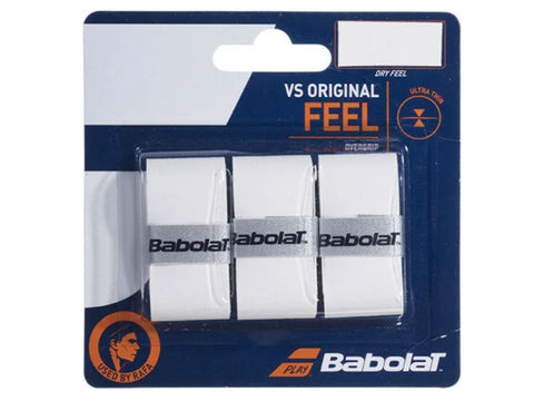 Babolat VS Original Thin Overgrip Pack of 3
